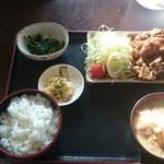 みのり食堂 - 2015年12月12日 12:00 焼肉定食