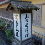 比良山荘 - ☆こちらは見たことがある目印な看板ですね☆