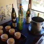 比良山荘 - ☆日本酒系はこちらを準備☆