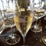 比良山荘 - ☆シャンパーニュで乾杯です☆