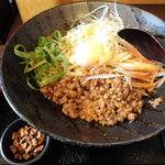 麺厨房 華燕 - 汁無し担々麺(温)