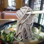 鎌倉五山 - けんちんそば(蕎麦)アップ