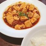 青菜 - ランチ。麻婆豆腐。