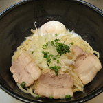 高山麺工房 - 油そば(並盛)+温玉