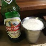 南インド家庭料理 カルナータカー - ビール