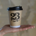 hello coffee stand -