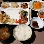 ホテルファミリーオみなかみ - 料理写真:夕食(妻)
