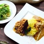 GoMe - Bランチ:バターチキン&豆のマサラ