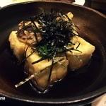 小料理小文字 - 揚げ出し豆腐