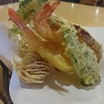 良味食堂 - 天ぷら(横)