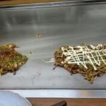ハルミ - 「ハルミ」すじこんモダン焼き