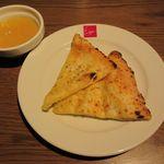 サルヴァトーレ・クオモ アンド バール - ピザ、オレンジゼリー(2016/01/13撮影)