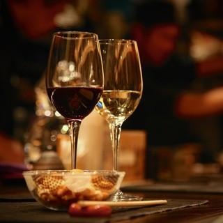 ワイン1杯や、お食事のみでもお気軽にお越し下さい♪
