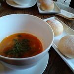 シャビー&チック - 数量限定週替りの「ランチセット」 ■こだわりスープ~「ミネストローネ」と ■自家製パン
