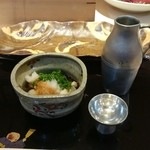 46434696 - 対馬の牡蠣酢&獺祭
