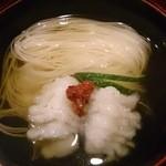 洲石 - 椀物:鱧素麺