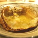 楽食ふじた - 蟹味噌 熱燗