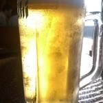 北の味紀行と地酒 北海道 飯田橋駅前店 - 生ビール・中ジョッキ(590円)