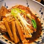 たこ梅 - 鯛のアラ炊き