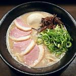 ちらん - 【塩鶏白湯らーめん 玉子入り】¥850