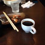 串のきっしゃん - ランチのコーヒー