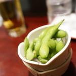 そばバー イング - セット枝豆