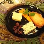 東京グリンツィング - チーズ盛り合わせ