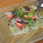 アドハビット - 本日鮮魚のカルパッチョ
