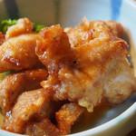 ひびの亭 - 鶏唐付き