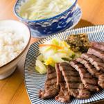 炭焼き牛たん徳茂 - 料理写真: