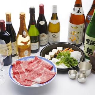 肉にあわせる旨い日本酒とワインを是非