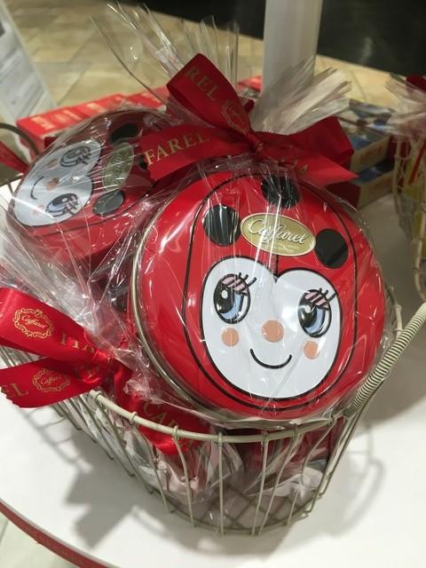 カファレル グランフロント大阪店 - 2016年1月 チョコラティーノ缶