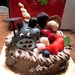 わがままおばさんのシュークリーム - トトロのケーキ