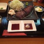 牛カツ東京 - 焼き牛定食