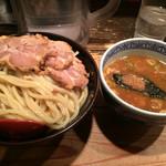 三田製麺所 - つけ麺大 チャーシュー3枚トッピング