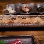 居酒屋 遊膳 - 穴子の天ぷら