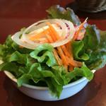 ブラッスリー ラ クラス - セットのサラダ