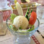 ビストロ ダイナ - 160114 ランチのサラダ