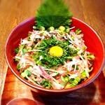 ビバラビーダ - ランチ時 ネギトロ薬味丼¥880