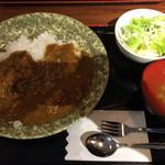 亭久五 - 定食のカレー