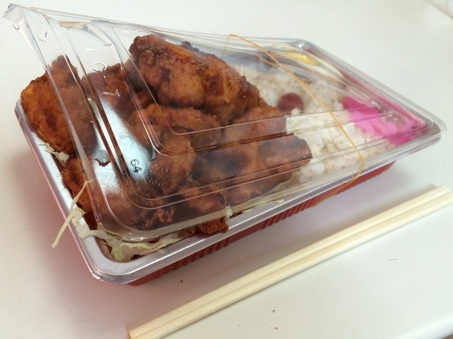 はじめ 広面店 - 味噌からあげ弁当大盛 520円