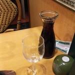 サイゼリヤ - フレッシュワイン赤 200円♪