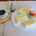 城亜 - タマゴサンドのサンドイッチセット