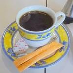 城亜 - サンドイッチセットのコーヒー