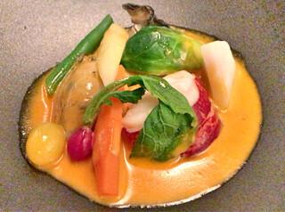 プレスキル - オマール海老と牡蠣