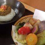 鎌倉野菜カレー かん太くん - キーマと野菜たち
