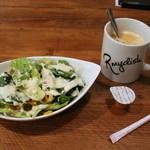 R mydish - サラダとコーヒー
