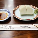 46462662 - 江戸前の正統派蕎麦前①「板わさ」