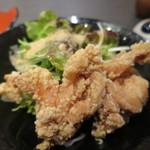 喜びの里 - ミニ鶏の唐揚げアップ