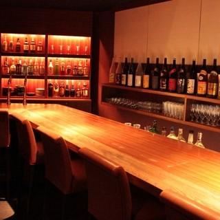 お酒の品揃え「日本酒・焼酎・ワイン・洋酒」